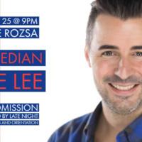 Comedian Pete Lee