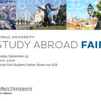 Study Abroad Fair 2018