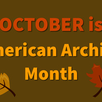 Hop Into History: October is Archives Month!