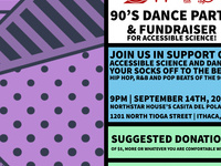 90's Dance Party for Accessible Science!