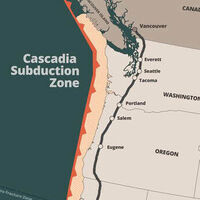 Slow slip events & seismogenic fault strength of the Cascadia subduction zone: A DeFord lecture series event