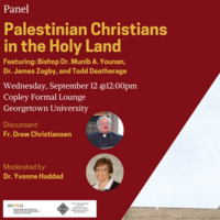 Palestinian Christians in the Holy Land