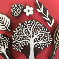 Block Printing for Holidays