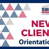 Small Business Development Center New Client Orientation