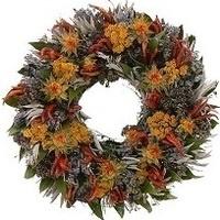 Fall Wreath Design Class by Strelitzia Flower Company