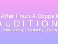 After Hours Co-ed A Cappella: Fall Auditions