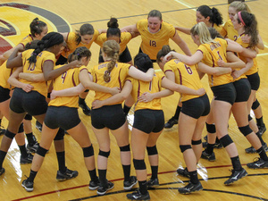 Oberlin College Women's Volleyball vs University of Pittsburgh at Greensburg