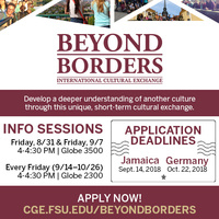 Deadline to Apply for Beyond Borders Germany