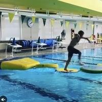 Intramural Sports Aquatics Obstacle Course