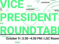 Student Organization Vice Presidents Roundtable
