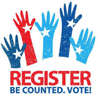 Voter Registration Tables with Campus Organizations