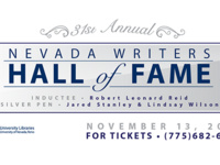 31st Annual Nevada Writers Hall of Fame