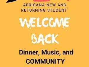 Africana Welcome Back