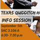 Texas Quidditch House Info Session