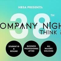 38th Annual Company Night: A Career Fair for All Majors!
