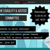 Equality and Justice Meeting