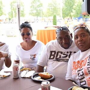 Black Alumni Council Tailgate Tent