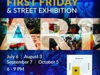 First Friday Open Studios and Street Exhibition