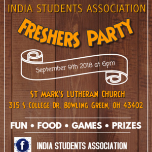India Students Association - Freshers Party