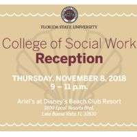College of Social Work Orlando Reception