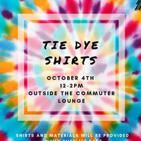 Commuter Connection: Tie Dye Shirts