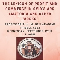 The Lexicon of Profit and Commerce in Ovid's Ars Amatoria and Other Works