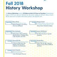 History Workshop Fall 2018