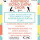 XCEND Show Choir Auditions