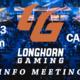 Longhorn Gaming Info Meeting
