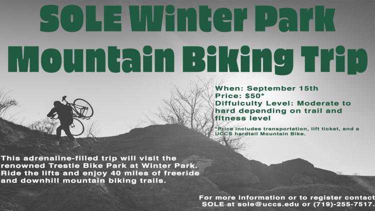SOLE Winter Park Mountain Biking Trip