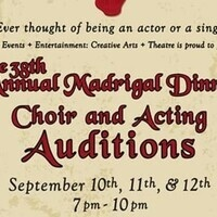 The 38th Annual Madrigal Dinner Auditions