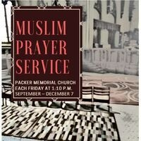 Muslim Prayer | Packer Memorial Church