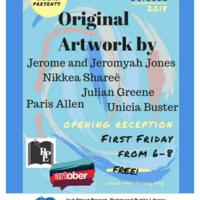 Artober Exhibits at Hull Street Library