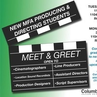 Meet and Greet with CTVA Graduate Producing and Directing Students