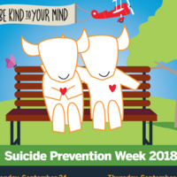 Suicide Prevention Week: Concerned about a Friend? Here's How to Help!