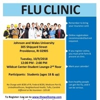 JWU Student Flu Vaccine Clinic