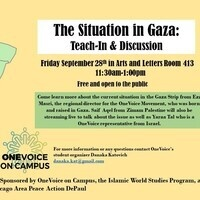 The Situation in Gaza: Teach-In & Discussion