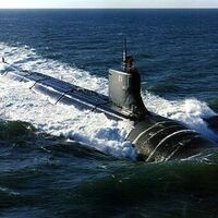 """""""Kenyon Under the Sea:  Using Nuclear Physics to Power a Fast Attack Submarine."""" with AJ Franz"""