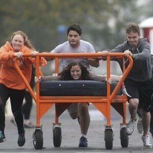Bed Races & Block Party