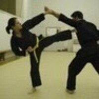 Kempo Karate Club Practice