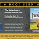 Talk and Book Signing: The Inheritance