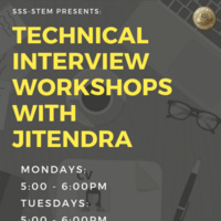SSS STEM: Technical Interview Workshops with Jitendra