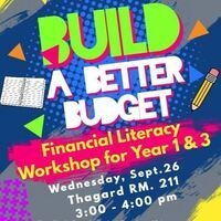 Build a Better Budget Workshop