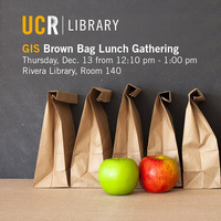 GIS Brown Bag Lunch