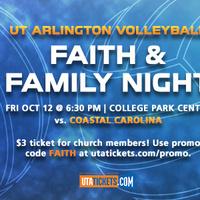 UTA Volleyball vs Coastal Carolina