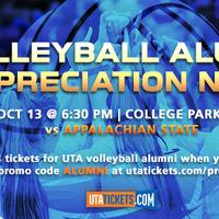 UTA Volleyball vs Appalachian State