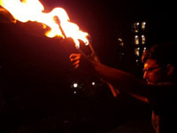 Strong Jugglers' 9th Annual Fire Show