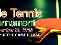 Table Tennis Gameroom Tournament