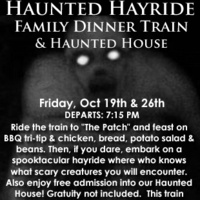 Haunted Hayride Dinner Train