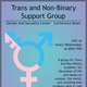Trans and Non-Binary Support Group